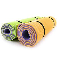 Коврик для йоги, фитнеса и спорта (каремат спортивный) OSPORT Спорт 10мм (FI-0083-1)