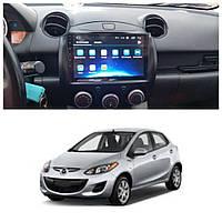 Штатна Android Магнітола на Mazda 2 2007-2014 Model 3G-WiFi-solution (М-Мз2-9-3Ж)