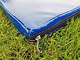 Борцовский спортивный мат ППЕ НХ для борьбы, дзюдо в чехле из ПВХ OSPORT 2м х 1м толщина 4см (FI-0097), фото 8