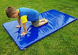 Чехол на мат спортивный, гимнастический, борцовский из ПВХ ткани OSPORT 1м х 2м толщина 4-10см (FI-0096), фото 2
