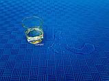 Мат татами (ласточкин хвост пазл) EVA OSPORT 1м х 1м толщина 40мм (FI-0010-40), фото 4