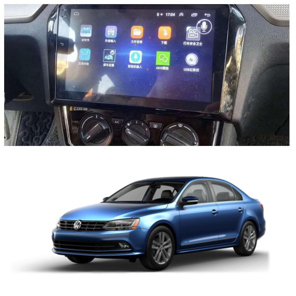 Штатна Android Магнітола на Volkswagen Jetta 2012-2018 Звуковая Model P6/P8-solution (М-ФДж-9-Р8)