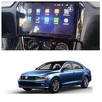 Штатна Android Магнітола на Volkswagen Jetta 2012-2018 Звуковая Model P6/P8-solution (М-ФДж-9-Р8), фото 1