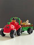 Трактор фермера с прицепом Limo Toy М 5572, фото 4