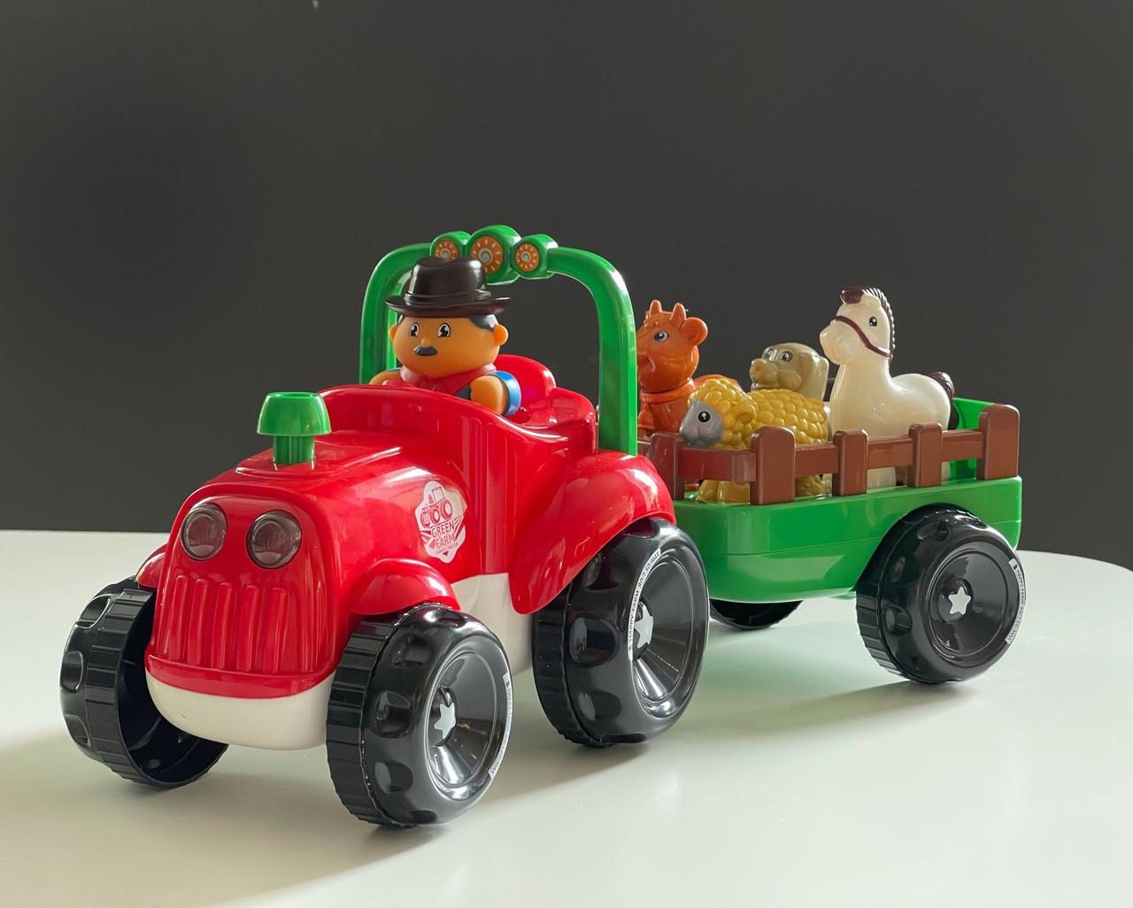 Трактор фермера с прицепом Limo Toy М 5572