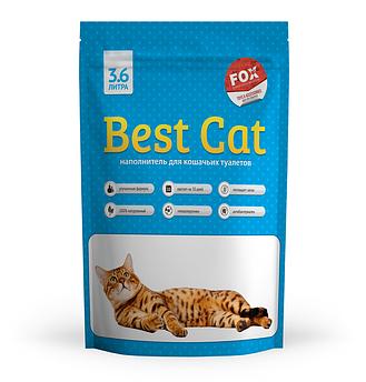 Силикагелевый наполнитель Best Cat Blue 3.6л