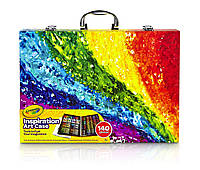 Набор Crayola Inspiration Art Case: 140 Art Supplies, Crayons, Colored Pencils, Washable Markers, Paper