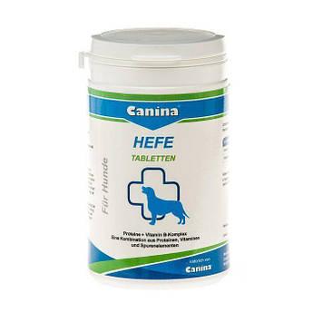 Дрожжевые таблетки с энзимами и ферментами для собак Canina «Hefe» 310 таблеток, 250 г (для пищеварения)