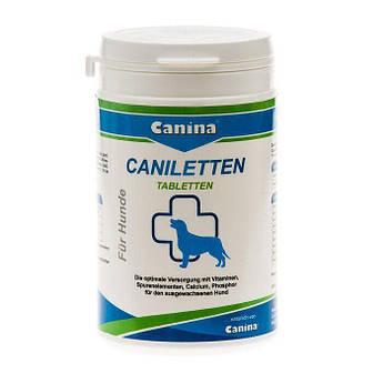 Витаминно-минеральный комплекс для взрослых собак Canina «Caniletten» 150 таблеток, 300 г(витамины и минералы)