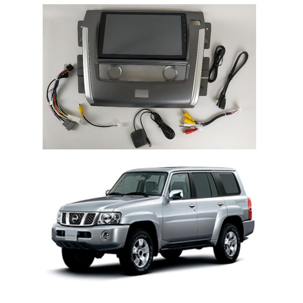 Штатная Android Магнитола на Nissan Patrol Y62 2010-2020 Model 4G-solution (М-НП-10-4Ж)