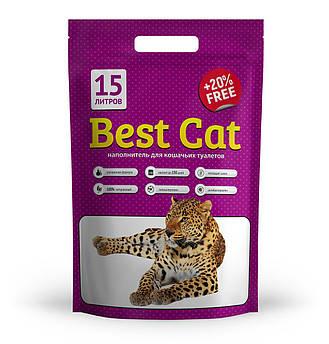Силикагелевый наполнитель Best Cat Purple Lawanda 15л