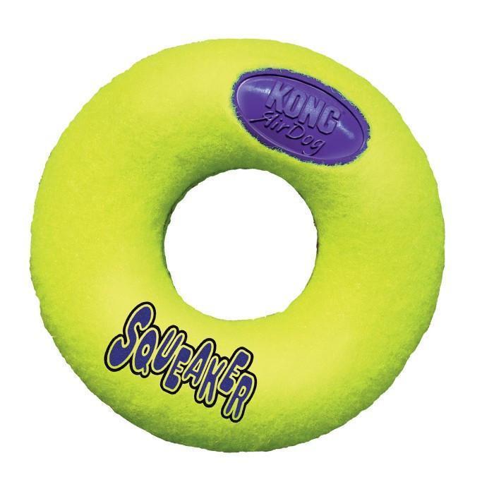 Игрушка KONG воздушная пищалка пончик -M