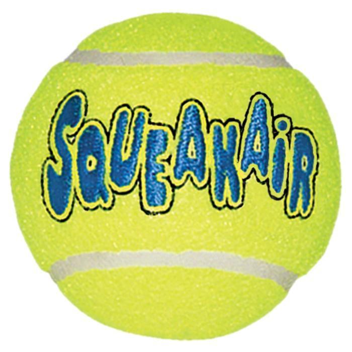 Игрушка KONG воздушная пищалка теннис - XS 3 шт.