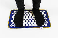 Коврик массажный акупунктурный Аппликатор Кузнецова (массажер для спины, ног) OSPORT Lite Mini (apl-018)