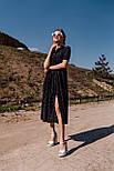 Модне плаття літнє жіноче довжини Міді, фото 4