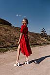 Модне плаття літнє жіноче довжини Міді, фото 2