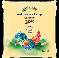 Майонезний соус Салатний 30% Філ-пак 340 г ТМ Гуляй-поле