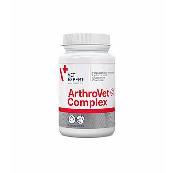 VetExpert ArthroVet Complex Усиленный комплекс для здоровья хрящей и суставов собак и кошек 60 т