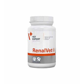 VetExpert RenalVet Вет Эксперт Ренал Вет препарат для собак и кошек с почечной недостаточностью 60 шт
