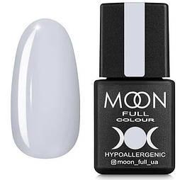 Гель-лак Moon Full №101 белый, 8мл.