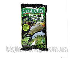 Прикормка рибальська Traper Sekret Lin-Karas Green Marzipan