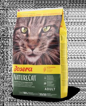 Josera Nature Cat беззерновой корм для кішок з чутливим травленням 10кг