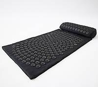Массажный коврик и валик 2в1 (аппликатор Кузнецова) массажер для ног/спины/шеи/тела FitUp (F-00001)