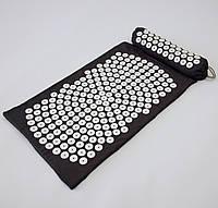Массажный коврик и валик 2в1 (аппликатор Кузнецова) массажер для ног/спины/шеи/тела FitUp (F-00002)