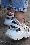 Стильные женские кроссовки D&G, фото 5