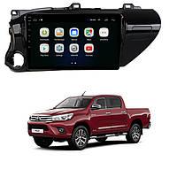 Штатна Android Магнітола на Toyota Hilux Model 4G-solution (М-ТХл-10-4Ж)