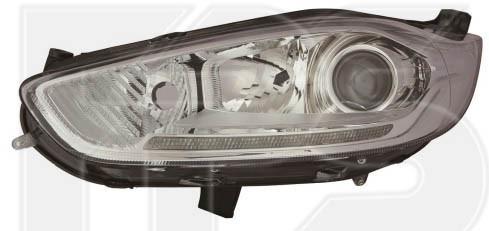 Фара Ford Fiesta '13-17 ліва (Depo) з коректором + LED