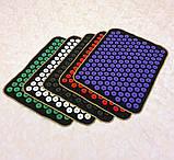 Массажный коврик Аппликатор Кузнецова (акупунктурный игольчатый массажер для спины) OSPORT Lite 50 (apl-004), фото 6