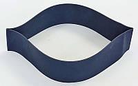 Резинка для фитнеса и спорта (лента эспандер) эластичная OSPORT Profi XL (MS 3009)