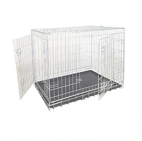 Клітка для собак, цинк, 2 двері, 109х71х79см *