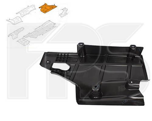 Захист від бруду нижня велика Ford Mondeo '14-17 (FPS) DG9Z5411778A