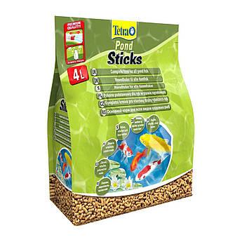 Сухой корм для прудовых рыб Tetra в палочках «Pond Sticks» 4 л (для всех прудовых рыб)