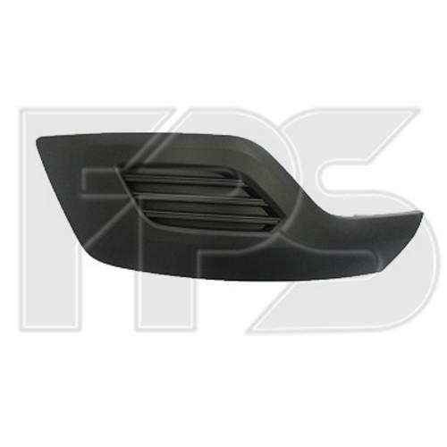 Решітка в бампері Ford Transit Custom 2012 - ліва (FPS) 1778873