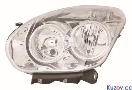 Фара Fiat Doblo 10 - ліва (Depo) 304209-E 51810672