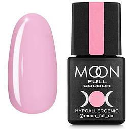Гель-лак Moon Full №106 кремовый розовый, 8мл.