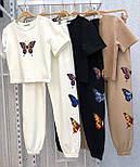 Летний прогулочный костюм женский со штанами, фото 4