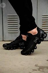 Мужские кроссовки Under Armour Scorpio Running shoes (черные) повседневная стильная обувь 435TP