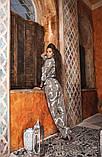 Піжамний костюм жіночий жакет з поясом та штани KAIZA, фото 3