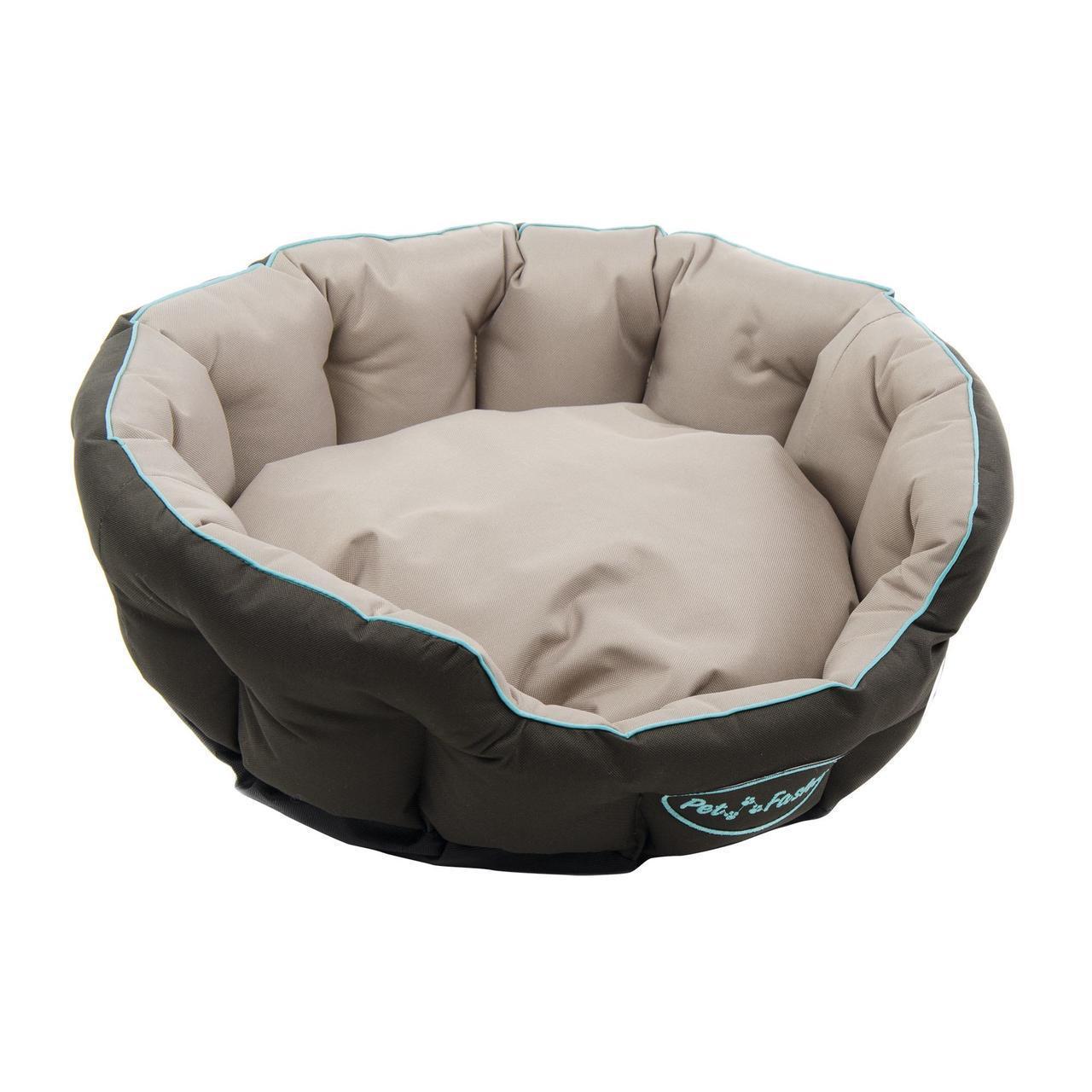 Лежак Pet Fashion «Босфор» 60 см / 53 см / 18 см (бежевый)