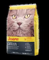 Josera Catelux сухой корм для кошек с уткой и картофелем 10кг