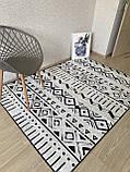 """Безкоштовна доставка! Турецький килим у спальню """"Малюнок"""" 160х230см., фото 3"""