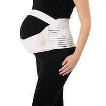 Бандаж для беременных дородовой YC SUPPORT, белый