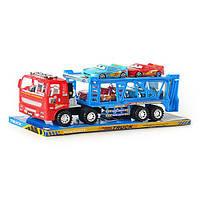 Детская машинка-трейлер инерционная METR+ RJ 6601 F  HN