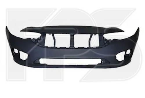 Передній бампер Fiat Tipo '16- (FPS) без отв. під парктронік