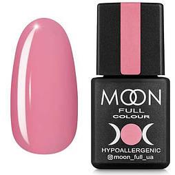 Гель-лак Moon Full №108 теплый розовый, 8мл.