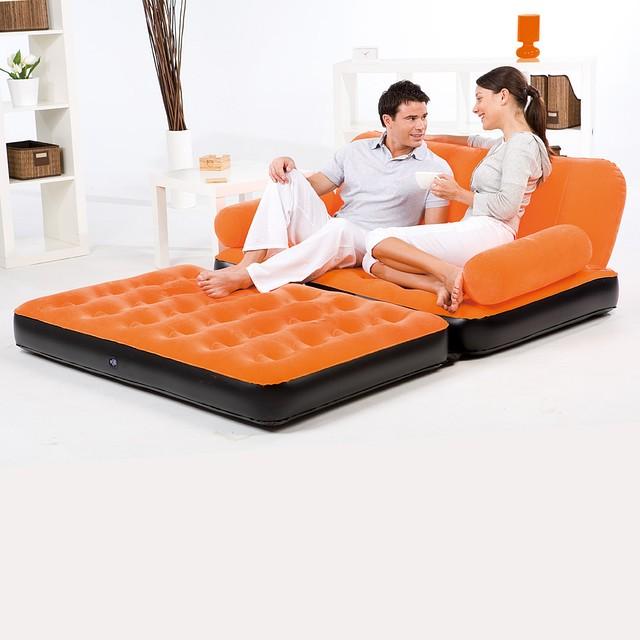 Надувной диван-трансформер, фото 1